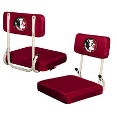 Florida State University Team Logo Hard Back Stadium Seat
