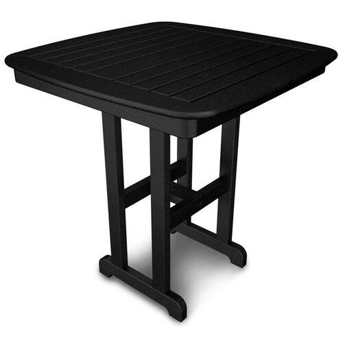 POLYWOOD® Nautical 37'' Counter Table - Black