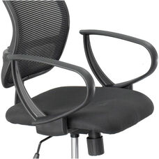 Vue™ Optional Loop Arms for Mesh Extended Height Chair - Black