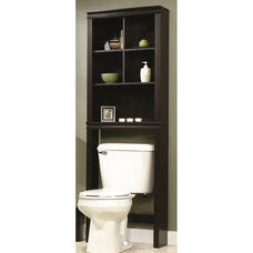 Bath Collection 68.625''H Etagere with Adjustable Shelves - Cinnamon Cherry