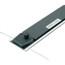 48''W Mobile Parallel Straightedge with Retractable Nylon Rollers
