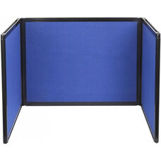 24'' High x 99'' Long with 24''H x 33''L Panel Tabletop Display - Fabric