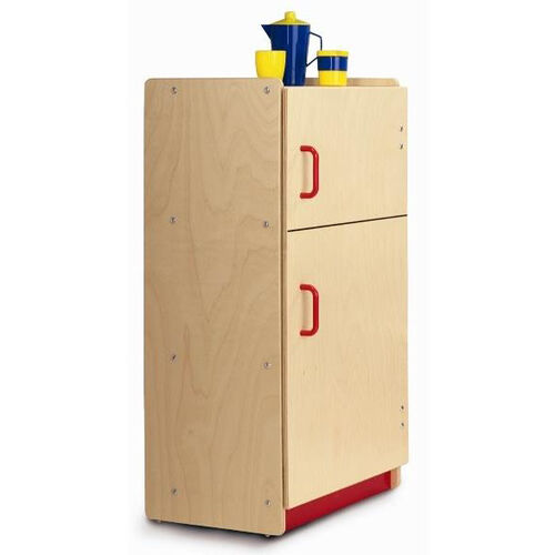 Toddler Refrigerator with Safe Pinch Resistant Hinges and Smooth Rounded Edges