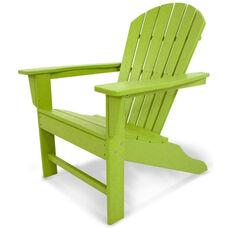 POLYWOOD® South Beach Adirondack - Vibrant Lime