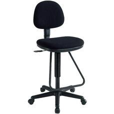 Viceroy Adjustable Height Artist/Drafting Chair - Black