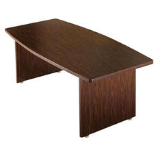 Customizable Boat Shaped American Conference Table - 38-48''W x 96''D x 30''H