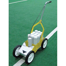 Athletic Field Steel Striper with 4 Wheels