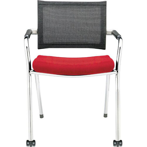 Strata Guest Chair with Front Casters
