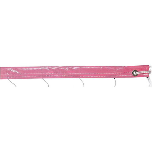 Vinyl Volleyball Net in Neon Pink