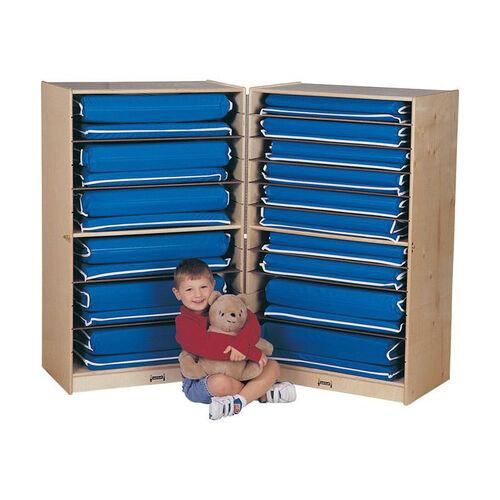 Fold-n-Lock Storage Unit