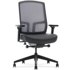 Expression Quick Ship Management Chair with Width Adjustable Arms