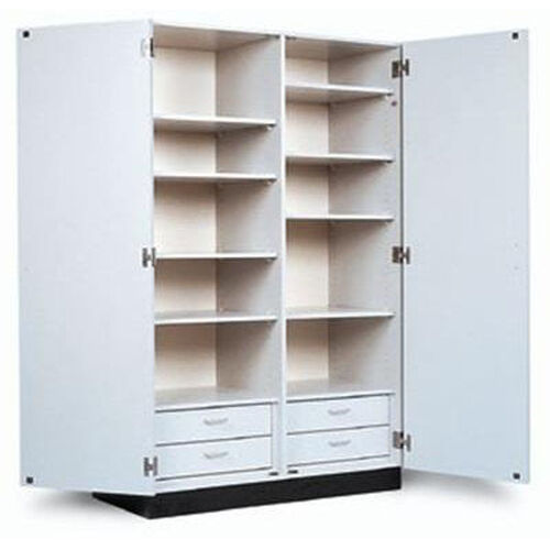 Double Door Storage Cabinet - 48''W X 23''L X 76''H