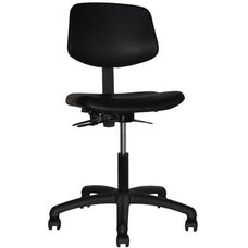 Indy 300 Series Small Back Single Shift Adjustable Swivel and Seat Height Task Chair