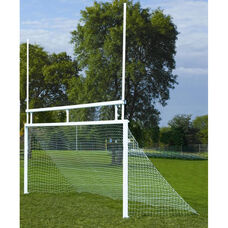 Combination Soccer and Football In-Ground Aluminum Goals