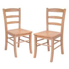Ladder Back Chair-Set of 2
