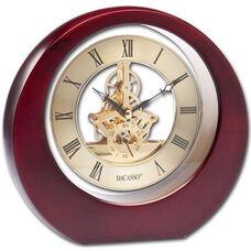 Eclipse Desk Clock - Brown