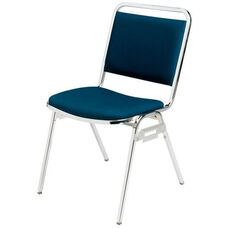 Convention Stacker Square Back with Chrome Finish Chair