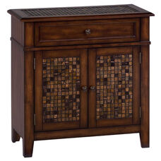 Baroque Brown Accent Cabinet with Small Scale