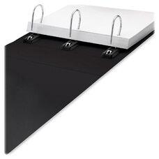 Idea Stream Gapless Binder - Non View - 5'' Cap - 11'' x 8 1/2'' - Black