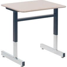870 Series Cantilever-Leg Hard Plastic Student Desk - 26''W x 20''D x 22''H - 30''H