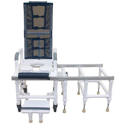 Tilt-N-Space Slider Shower Transfer Chair - With Casters