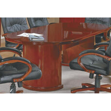 OSP Furniture Sonoma Wood 6' Conference Table - Cherry
