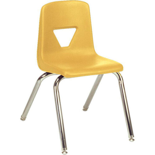 2000 Series Stack Chair with 16''H Seat - 16.88''W x 20''D x 27''H