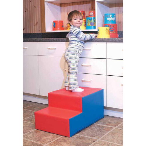 Multicolor Soft Step Stool - 24''L x 16''W x 12''H