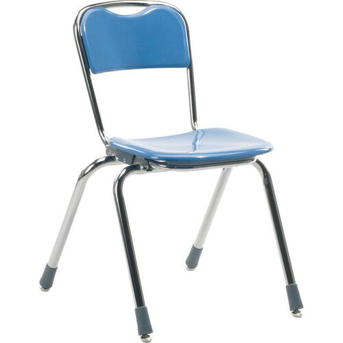 Telos Series Stack Chair with 16''H Seat - 18.38''W x 20.25''D x 27.88''H