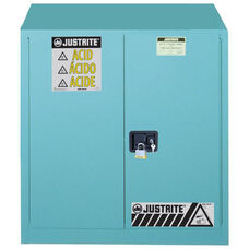 Sure-Grip® EX Classic 43'' W x 18'' D Safety Steel Cabinets for Corrosives with 2 Self-Close Doors - Blue