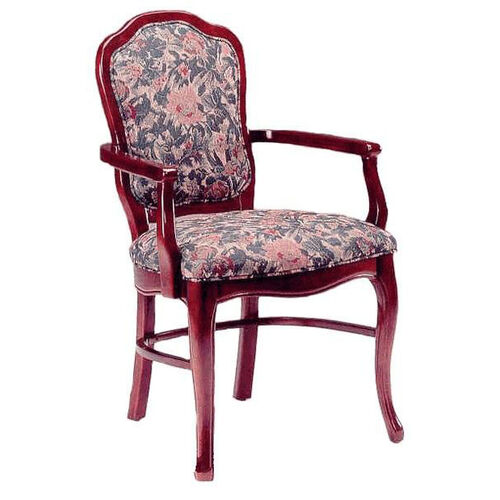801 Arm Chair w/ Upholstered Back and Web Seat - Grade 2