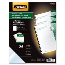 Fellowes Futura Premium Frosted Presentatn Covers - Pack Of 25