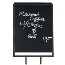 Black Acrylic Write-on Board Insert for Poster Holders