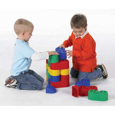 Multicolor Plastic Snap Bloc Set