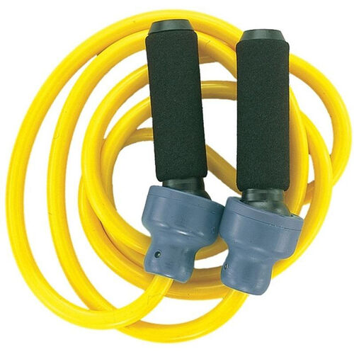 Our 3 lbs. Weighted Jump Rope in Yellow is on sale now.