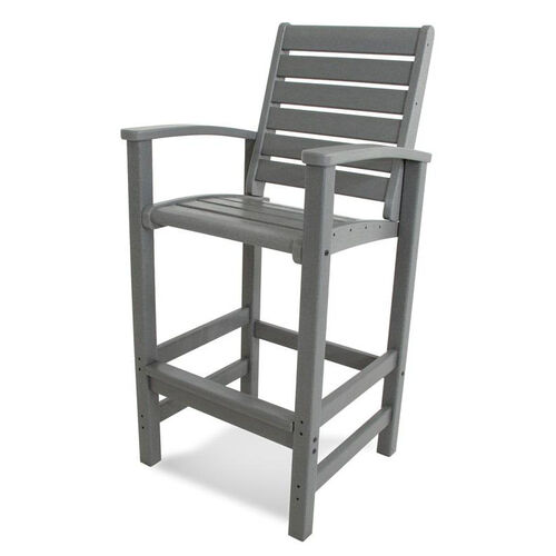 Our POLYWOOD® Signature Bar Chair - Slate Grey is on sale now.
