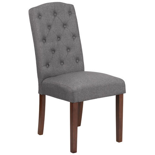 Our HERCULES Grove Park Series Gray Fabric Tufted Parsons Chair is on sale now.