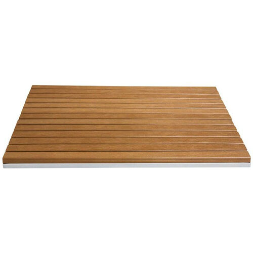 Our Nevada Square Durawood Slat Table Top with Powder Coated Aluminum Frame is on sale now.