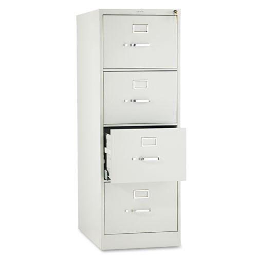 Our HON® 510 Series Four-Drawer Full-Suspension File - Legal - 52h x25d - Light Gray is on sale now.