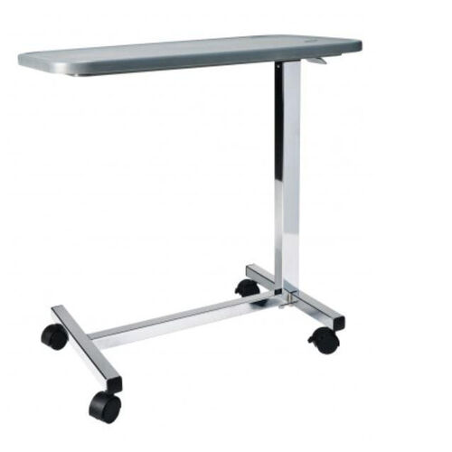 Our Height Adjustable Non-Tilt Composite Overbed Table with Chrome Plated Base is on sale now.