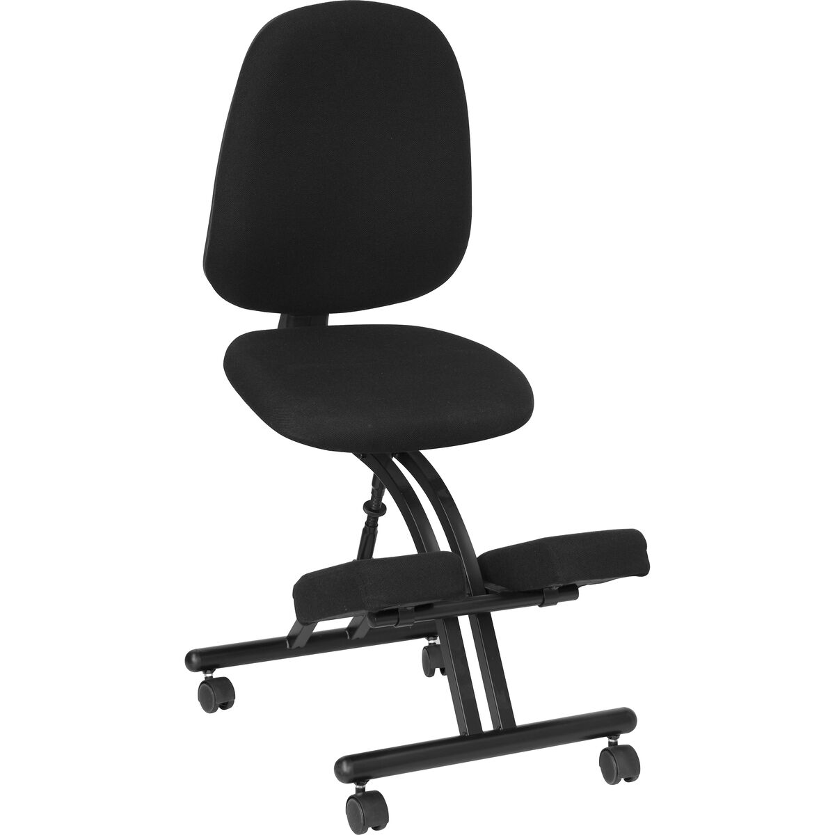 black mobile kneeler posture wl 1428 gg bizchair com
