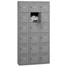 Tennsco Box Locker - Si x Tier - 3 Wide