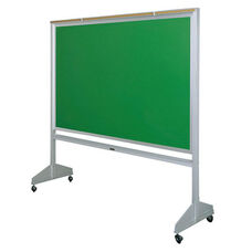 Deluxe Double Sided Mobile Green Chalkboard - 96