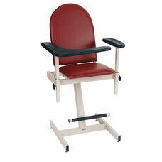Designer Blood Drawing Chair - Padded Vinyl