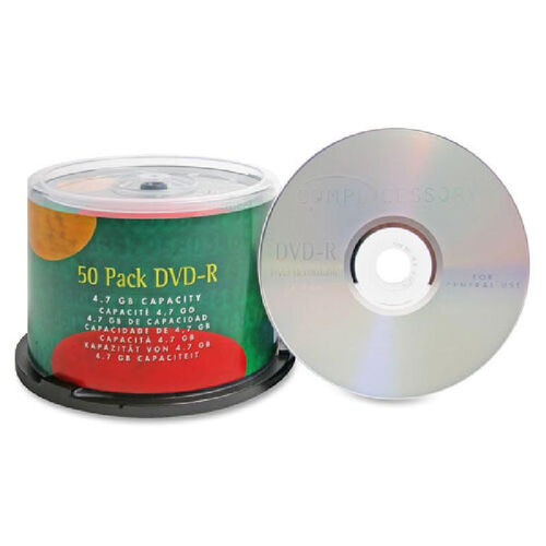 Our Compucessory Branded Dvd-R Disc - Pack Of 50 is on sale now.