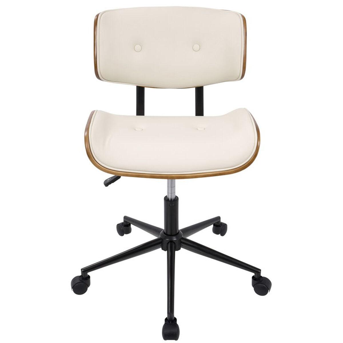 Lombardi Cream Office Chair Oc Jy Lmb Wl Cr Bizchaircom