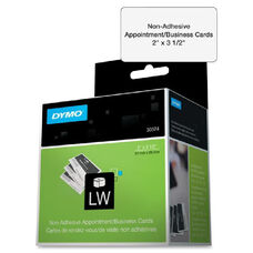 Dymo Nonadhesive Appointment Cardstock Labels - Pack Of 300