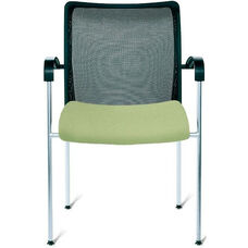 Open End Large Mesh Back Side Chair