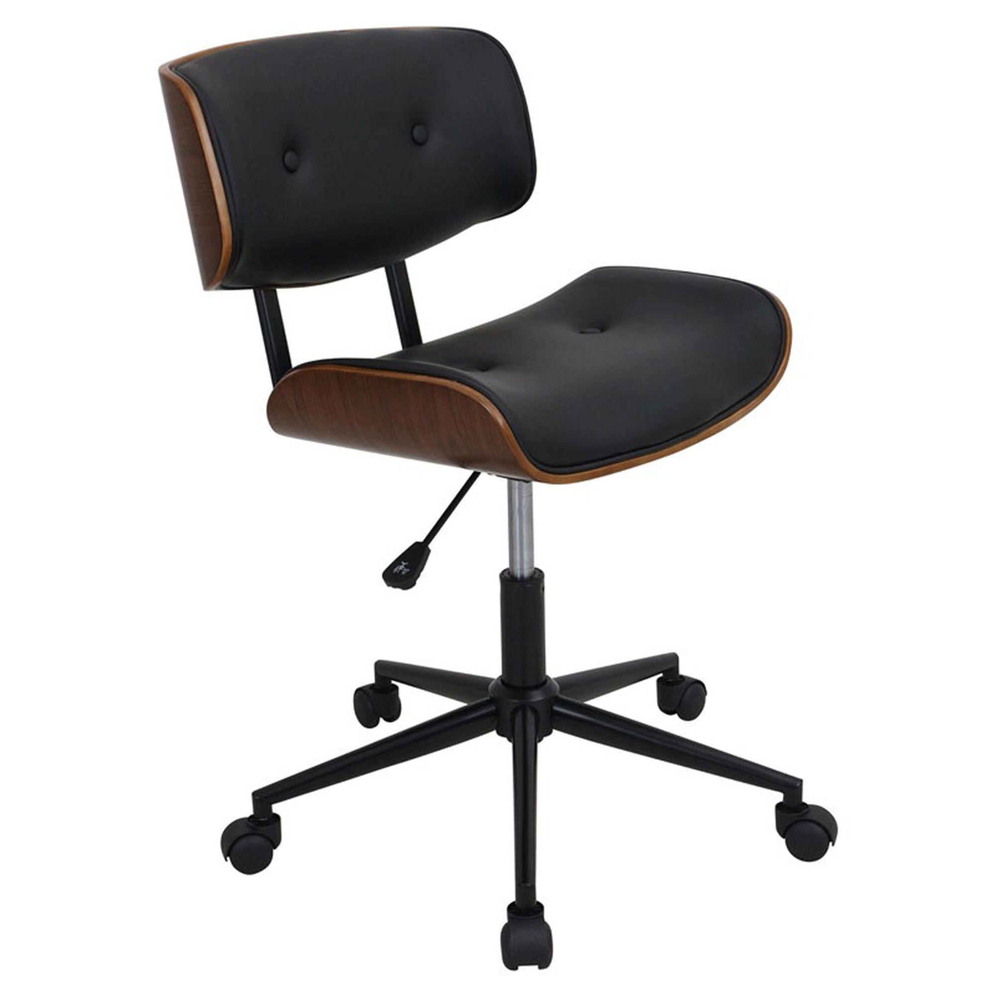 Lombardi Black Office Chair Oc Jy Lmb Wl Bk Bizchaircom