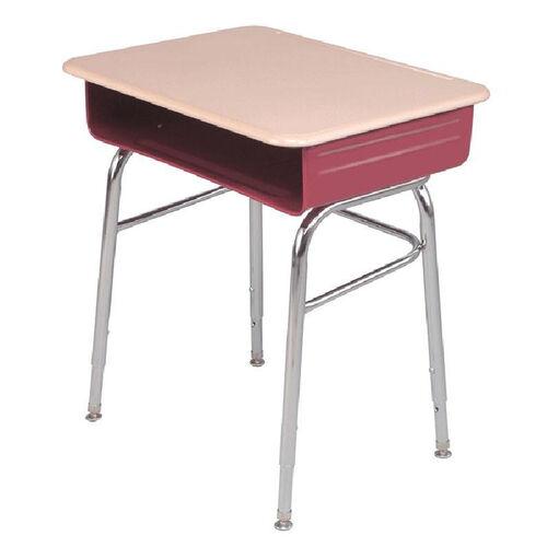 Aptitude Series Adjustable Height Open Front Student Desk